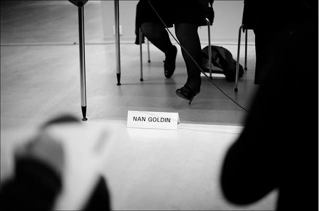 Nan Goldin Press Conference Berlinische Galerie