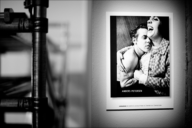 Anders Petersen retrospective at Bibliotheque Nationale BnF Paris
