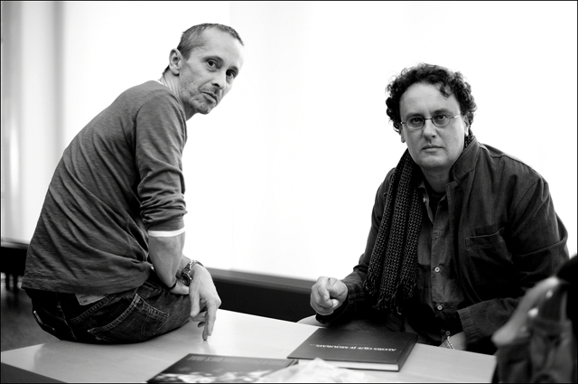 Paolo Pellegrin and David Kregenow at Kunstfoyer VKB München