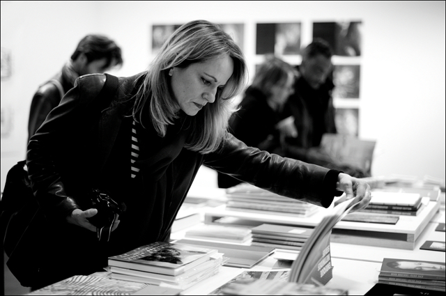 Susanna Mende at Kasseler Fotobuchtage at Le Bal Paris