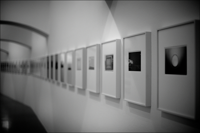 Installation view of Lewis Baltz exhibition at Kestnergesellschaft Hannover