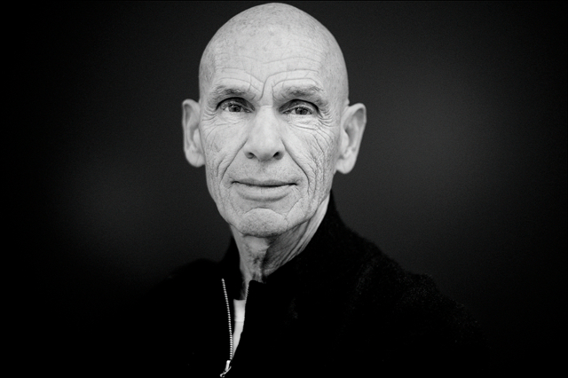 Joel Meyerowitz at the opening of his retrospective exhibtion at NRW Forum Düsseldorf